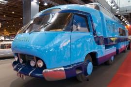 Camion Pathé Marconi Charbonneux - Rétromobile 2016