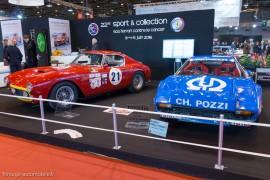 Ferrari sur le stand Sport et Collection - Rétromobile 2016