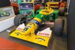 Benetton Ford 1ère victoire Schumacher - Rétromobile 2016