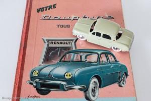 Renault Dauphine de 1956 - C.I.J réf. 3/56 sur catalogue guide technique Renault