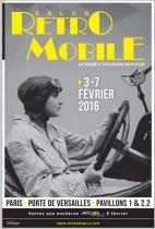 affiche Rétromobile 2016