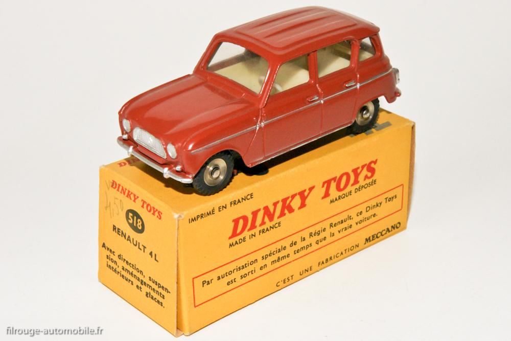 Les partenariats Dinky Toys- Marque automobiles Filrougeautomobile-03563