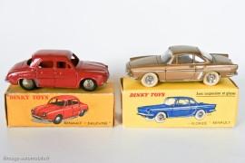 Renault Dauphine et Floride par Dinky Toys