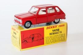 Dinky Toys 1416 - Renault R6 berline