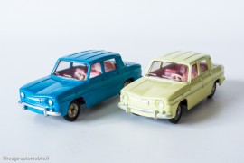 Dinky Toys 517 - Renault R8 berline - les 2 couleurs