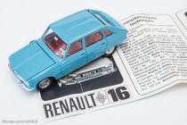 Dinky Toys 537 - Renault R16 berline - avec imprimé Renault
