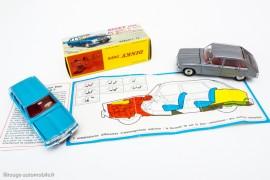Dinky Toys 537 - Renault R16 berline - les 2 couleurs et avec imprimé Renault