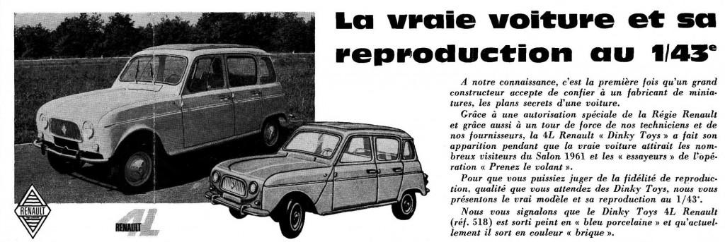 Actualités Meccano décembre 1961