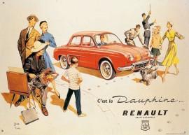 Présentation de la Renault Dauphine