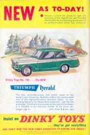 Meccano magazine mai 1959, une première mondiale