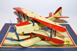 Meccano Constructeur d'avion - Hydravion sur boite n°0