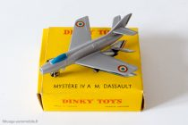 Dinky Toys ref. 60 A - Mystère IV A - M.Dassault