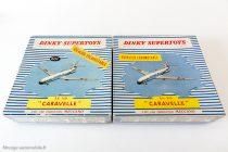 Dinky Toys 60 F et 891- Caravelle SE 210