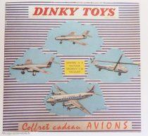 Dinky Toys réf. 60 - Coffret de quatre avions