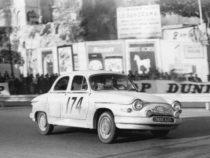 Panhard PL 17 - 1ère au Monte Carlo 1961