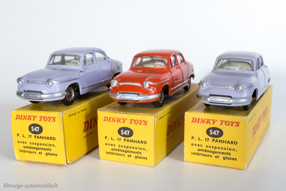 éditions Atlas ref 102 junior  // PL 17 Panhard dinky toys