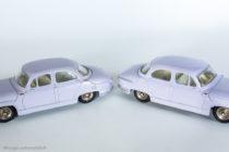 Panhard PL 17 - Dinky Toys réf. 547 - les variantes 1 et 2