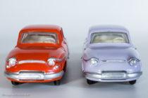 Panhard PL 17 - Dinky Toys réf. 547 - les variantes 3 et 2