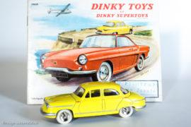 Panhard PL 17 - Dinky Toys Editions Atlas réf. 547 et catalogue Dinky Toys de 1960