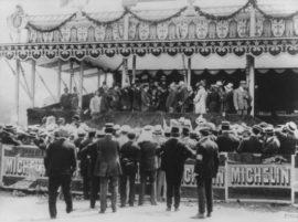 Grand Prix de l'ACF 1906 - la cérémonie de remise des prix