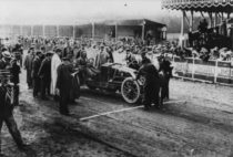 Renault type AK de Ferenc Szisz - 1ère au Grand Prix de l'ACF 1906