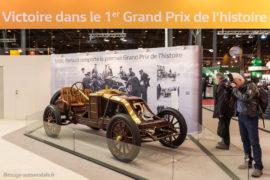 Renault type AK de Ferenc Szisz - 1ère au Grand Prix de l'ACF 1906 - Rétromobile 2016