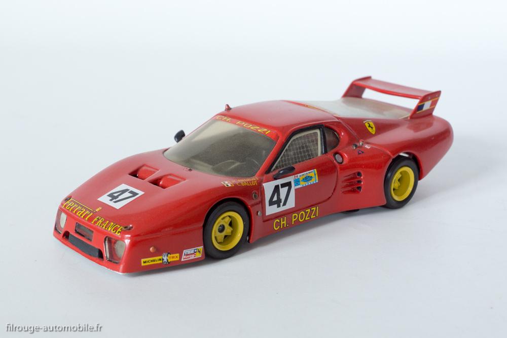24 Heures du Mans 1981 - Ferrari 512 BB 5ème et vainqueur en IMSA GTX- 1/43ème  AMR