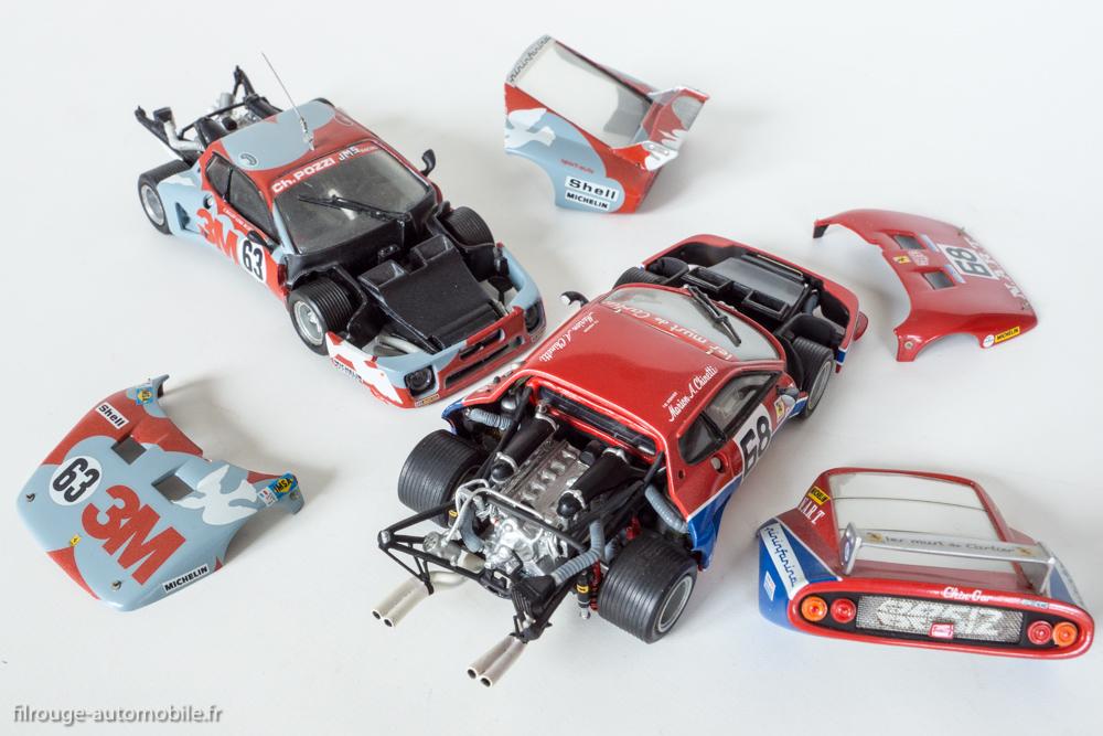 Ferrari BB 512 LM - 2 Kits AMR version 97 pièces