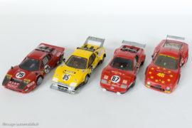 Ferrari BB / LM - AMR , évolution des lignes