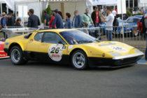 Ferrari BB 512 LM (ici au Mans Classic) - Le Mans 1978 - abandon
