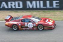Ferrari BB 512 LM (ici au Mans Classic) - Le mans 1982 - 6ème