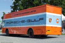 Le Mans Classic 2016 - Camion écurie Porsche Gulf