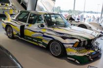 Le Mans Classic 2016 - BMW 320i 1977 décorée par Roy Lichtenstein