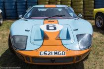 Ford GT 40 vainqueur 24 Heures du Mans 1969 - réplique au Mans Classic 2016
