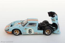 Ford GT 40 vainqueur 24 Heures du Mans 1969 - Bang avec capot ouvrant