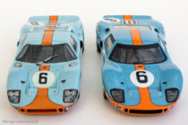 Ford GT 40 vainqueur 24 Heures du Mans 1969 - Bang et Ixo Models / Altaya