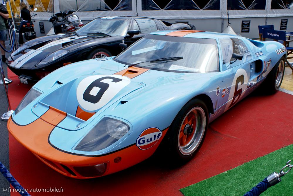 Ford GT 40 - vainqueur 24 heures du Mans 1969