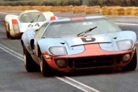 Ford GT 40 vainqueur 24 Heures du Mans 1969, le duel avec la Porsche 908 - Photo de 1969
