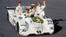 BMW V12 LMR - vainqueur 24 Heures du Mans 1999 avec Joachim Winkelhock – Pierluigi Martini – Yannick Dalmas