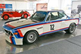 2 générations de BMW - BMW 328 et BMW 3.0CSL - ici au Mans Classic 2012