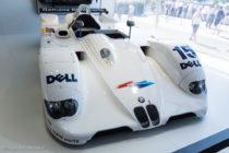 BMW V12 LMR - vainqueur 24 Heures du Mans 1999 - ici au Mans Classic 2016