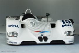 BMW V12 LMR - vainqueur 24 Heures du Mans 1999 - ici au Mans Classic 2014