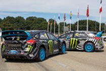 Ford Focus RS RX de Andreas Bakkerud et Ken Block - Rallycross de Lohéac 2016