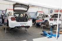VW Polo R WRX de Johan Krsitoffersson et Anton Marklund - Rallycross de Lohéac 2016