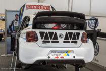 VW Polo R WRX de Anton Marklund - Rallycross de Lohéac 2016