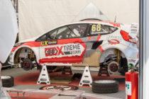 Ford Fiesta ST de Niclas Gronholm (fils de Marcus Gronholm) - Rallycross de Lohéac 2016