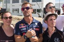 Sébastien Loeb parmi les fans - Rallycross de Lohéac 2016