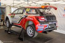 Citroën DS 3 de Knapick (Serge Lemonier) - Rallycross de Lohéac 2016