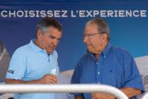 Patrick GERMAIN, Président de l'Ecurie Bretagne et Michel Hommell créateur du Rallycross de Lohéac