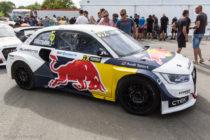 Audi S1 Quattro de Mattias Ekstrom - Rallycross de Lohéac 2016